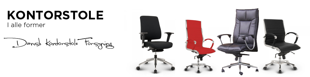 Dansk Kontostole Supply - Office chairs are our fashion
