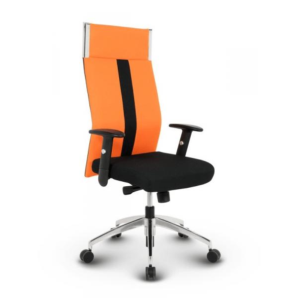 Pleasent kontorstol - Orange