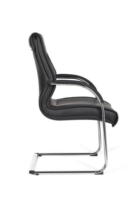 Melbourne - Sort kontorstol uden hjul