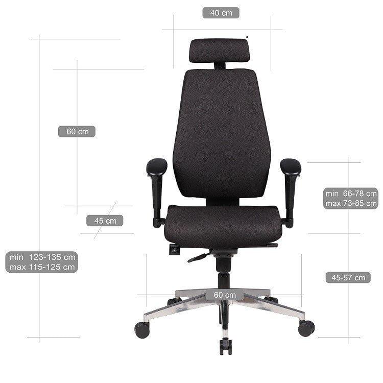 kontorstol høj ryg