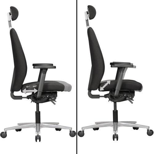 Ergo-Tron sædevip kontorstol
